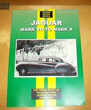 JAGUAR MK VII TO MK X ROAD TEST REPRINT BOOK + SERVICE DATA. UMB.Inc VIII IX