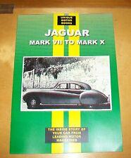 JAGUAR MK VII TO MK X ROAD TEST REPRINT BOOK + SERVICE DATA. UMB.Inc VIII IX