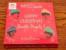 THE OFFICIAL BEATLES FAN CLUB ~ THE CHRISTMAS RECORDS LIMITED EDITION 7 INCH BOX