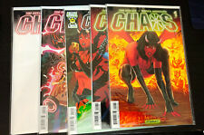 CHAOS #1 (Dynamite 2014) -- Tim Seeley -- Set of 5 VARIANT Covers