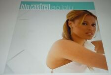 BLU CANTRELL~So Blu~Promo Poster Flat~Double Sided~12x12~Excellent Cond~2001