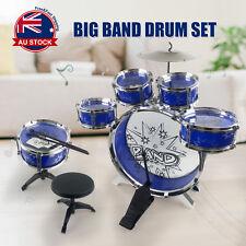 Kids Junior Drum Kit Music Set Children Mini Big Band Jazz Musical Play Toy