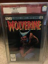 Wolverine Limited Series #3 CGC 9.9 1982 MINT! Not 9.8! Rare X-Men E12 147 1 cm