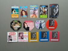 GLORIA ESTEFAN,set of 14 Original Backstage passes,Various tours
