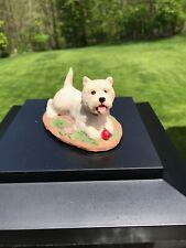 Charmstone handpainted Westie figurine