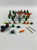 Lego Mini Figures Large Bundle Super Hero minifigure massive Joblot free post