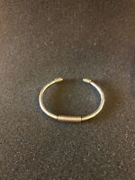 james avery sterling silver And 14k Cuff Bracelet