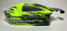 Neon Grün Specter Carson SP Two Karosserie Karo Body 1/8 4WD Nitro Buggy SP-2 CS