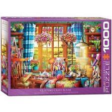 Eurographics Jigsaw Puzzle 1000 Piece - Patchwork Craft Room EG60005348