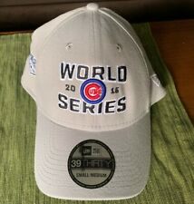 Chicago Cubs New Era 2016 World Series Locker Room 39Thirty Hat GRAY NEW