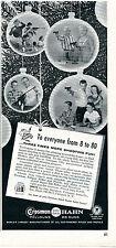 1960 Print Ad of Crosman Hahn Pellgun & BB Gun To Everyone from 8 to 80