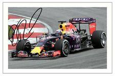 DANIEL RICCIARDO RED BULL AUTOGRAPH F1 SIGNED PHOTO PRINT FORMULA ONE
