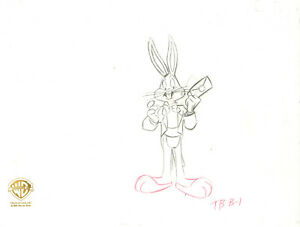 Warner Brothers--Original Production Drawing-Bugs Bunny