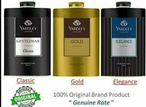 YARDLEY LONDON Talcum Talc Powder for Men,Gentleman Classic, Elegance, Gold/F.S