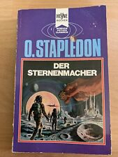 Der Sternenmacher, Olaf Stapledon, Heyne SF 3706/3707 Science Fiction Classics