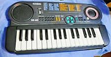 Casio SK-60 Say & Play sampling keyboard in box tested and working
