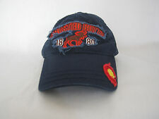 Distressed Crested Butte 1180  Embroidered Adjustable Hat