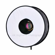 RoundFlash Collapsible Light Weight Ring Flash Diffuser for Shadowless Lighting