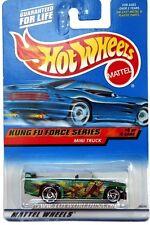 2000 Hot Wheels #36 Kung Fu Force Mini Truck