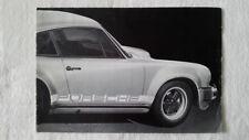 32a 104 1975 Porsche 911 930 TURBO PROSPECTO FOLLETO Multilingüe 12 LATERAL