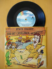STEVE WRIGHT = THE GAY CAVALIEROS / SHUT UP - MCA 1984 -EXCELLENT VINYL & SLEEVE