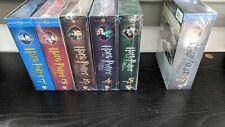 Harry Potter Ultimate Edition Blu-ray volumes 1,2,3,4,5,7 *NO VOL.6 WON'T SPLIT*