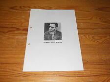 Ringo Starr-Time Takes Time/4 page GERMANY PROMO-HeFT (din-a-4) 1992