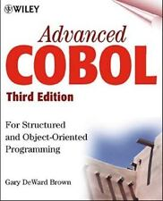 Advanced COBOL for Structured and Object-Oriented Programming, 3rdEdition