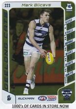 2016 AFL Teamcoach GOLD Card - Mark Blicavs - Geelong