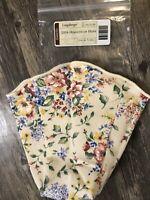 Longaberger 2004 Horizon of Hope Basket Fabric Liner Spring Floral #28170138