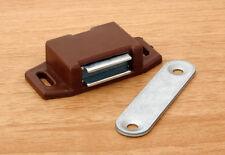 10 Möbel Magnetschnäpper  Möbel Magnet  Tür Magnet  wei�Ÿ schwarz braun