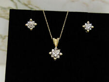Cluster Not Enhanced Fine Necklaces & Pendants