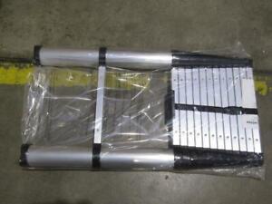 Ohuhu 12.5 ft. Telescopic Ladder 17-80100-14