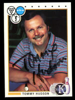 Tommy Hudson #39 signed autograph auto 1990 Kingpins PBA Bowling Trading Card