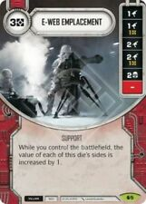 Star Wars Destiny: E-Web Emplacement [Mint/NM] Spirit of Rebellion SW Fantasy Fl