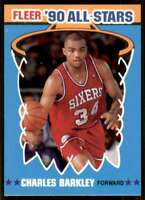 1990-91 Fleer '90 All-Stars Charles Barkley Philadelphia 76ers #1