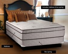 Fifth Avenue Extra Plush Eurotop King Size Mattress and Box Spring Set