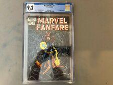 Marvel Fanfare #10--CGC 9.2--Black Widow story!