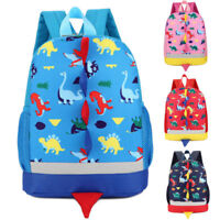 Lovely Toddler Baby Boys Girls Kids Dinosaur Pattern Animals Backpack School Bag