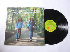 ALVIN LEE & MYLON LeFEVRE ~ ON THE ROAD TO FREEDOM ~ 1973 UK 1ST PRESS VINYL LP