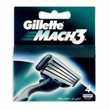 Gillette Mach 3 Razor Blades - 4 Pack