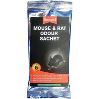 Rentokil Mouse & Rat Odour Sachet Last Up to 6 Weeks Poison Free Rodent Pests