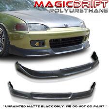 92-95 Honda Civic Coupe TC JDM Front & Rear Bumper Lips (Urethane) Body Kit