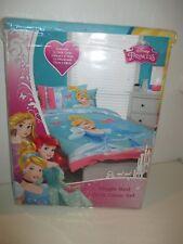 DISNEY Princess CINDERELLA GLASS SLIPPER Single Bed Quilt Cover Set