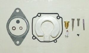 Tohatsu 25-90 Hp Carburetor Kit W/Float Replaces 346-87122-0