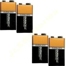 4  Duracell 9V Batteries MN1604 6LR61 PP3 DATE 2019 oem