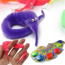 Magic Twisty Worm Wiggle Moving Sea Horse Kids Trick Toy Caterpillar Soft N