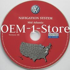 2004 2005 VW VOLKSWAGEN TOUAREG NAVIGATION NAV MAP CD 8 MID ATLANTIC MD DE VA NJ