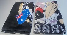 Retro Collingwood Beach Towels 2 towels in Total Collingwood Football Club Theme