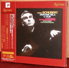 ESOTERIC SACD ESSS-90054: Schubert Sym No. 8 (9) - Kempe - OOP JAPAN 2011 SEALED